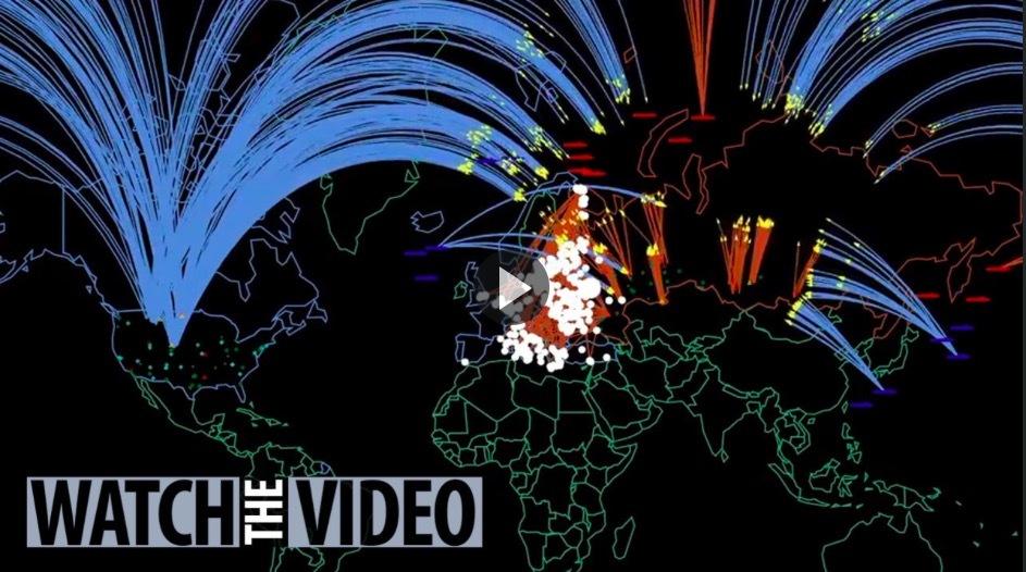 Mô phỏng kinh hoàng về chiến tranh hạt nhân Nga-Mỹ