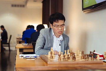 Vietnam's top chess player Le Quang Liem draws with Artemiev in FIDE World Cup