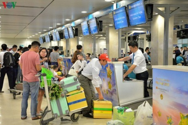 Vietnam Airlines to halt broadcasting at domestic terminal