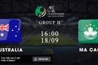 Xem trực tiếp U16 Australia vs U16 Macau: Vòng loại U16 châu Á 2020