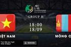 Trực tiếp U16 Việt Nam vs U16 Mông Cổ: Vòng loại U16 châu Á 2020