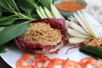 Foodwise: Cuon dap Da Nang and its Hanoi brother are must-try dishes