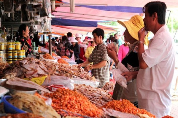 Cẩn trọng khi mua thủy hải sản khô