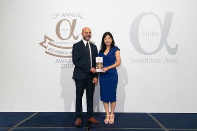 Vietcombank nhận giải thưởng Ngân hàng tốt nhất Việt Nam