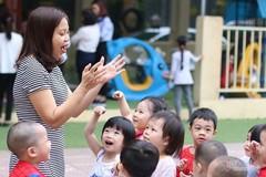 Đề xuất giáo viên mầm non là nghề nặng nhọc