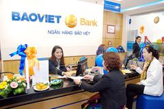BaoViet Bank: lãi thuần từ hoạt động tín dụng gần 400 tỷ đồng