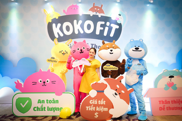 KOKOFiT - thương hiệu tã bỉm Hàn Quốc 'đổ bộ' thị trường Việt