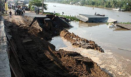 Dutch scientists say Mekong Delta 0.8 meters above sea water level