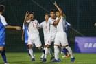 U16 Việt Nam chiếm ngôi đầu bảng sau chiến thắng 7-0