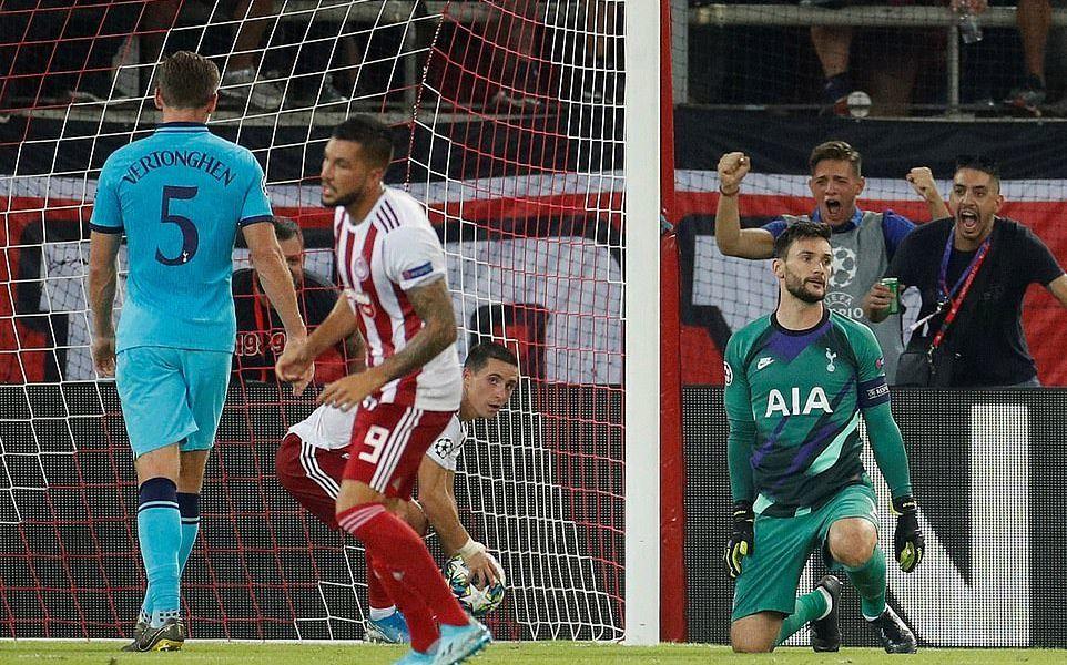 Olympiacos,Tottenham,Harry Kane