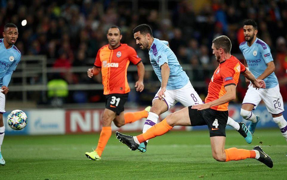 Shakhtar Donetsk,Man City,Pep Guardiola