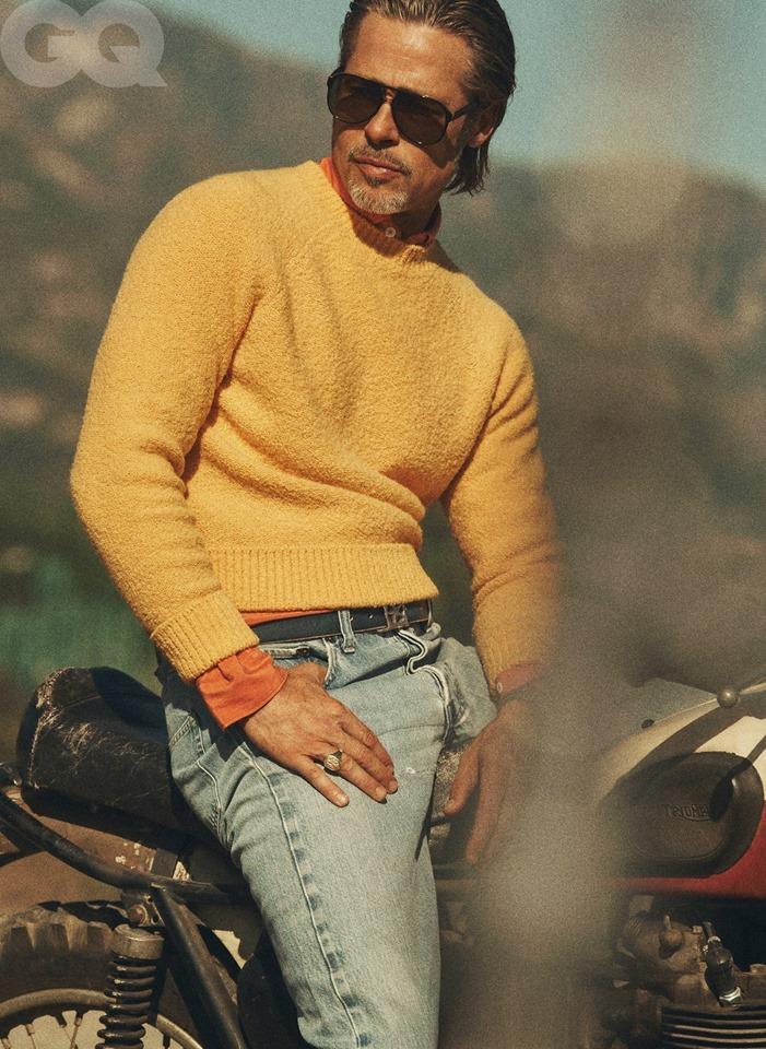 Brad Pitt độc thân quyến rũ, phong độ đỉnh cao ở tuổi 56