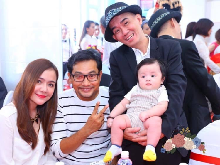Trương Nam Thành hạnh phúc bên vợ đại gia hơn 15 tuổi