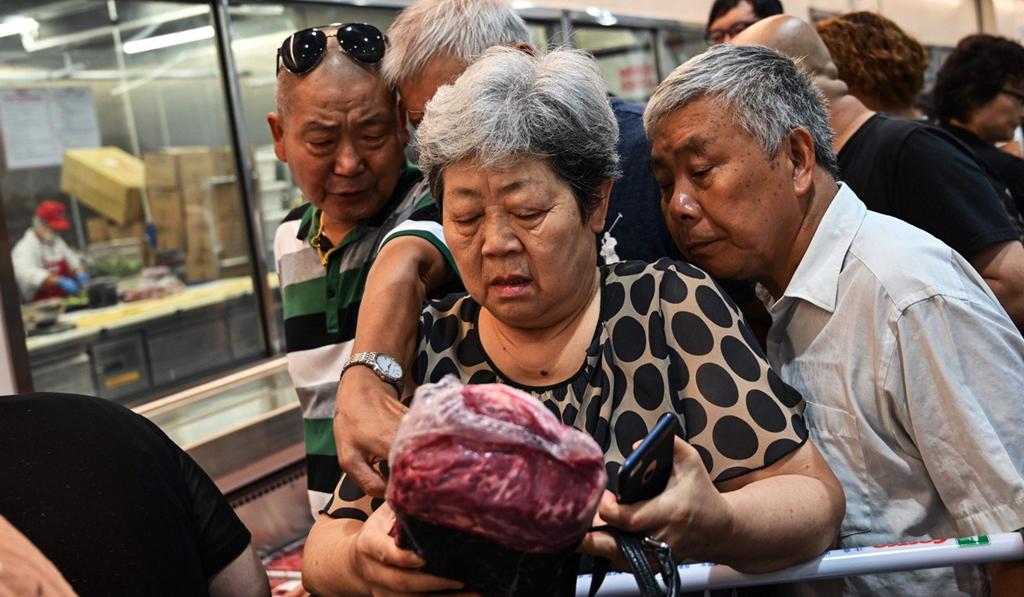 chiến tranh thương mại,Mỹ,Trung Quốc,thịt lợn,giá thịt lợn,khủng hoảng thịt lợn