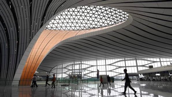 Hình ảnh siêu sân bay sắp khai trương ở Bắc Kinh