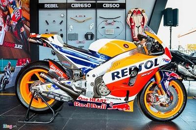 Chi tiết Honda RC213V trị giá 2 triệu USD mà Marc Marquez từng cầm lái
