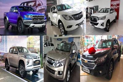 Tụt doanh số, loạt xe bán tải giảm giá khủng tháng 9