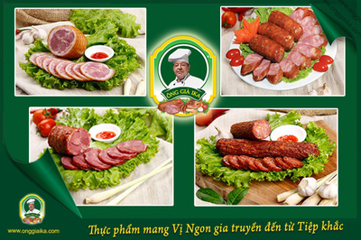 Xúc xích Klobasa - món Tây thu hút người Việt