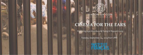 """Cinema for the Ears"" electro-acoustic night music at Salon Saigon"
