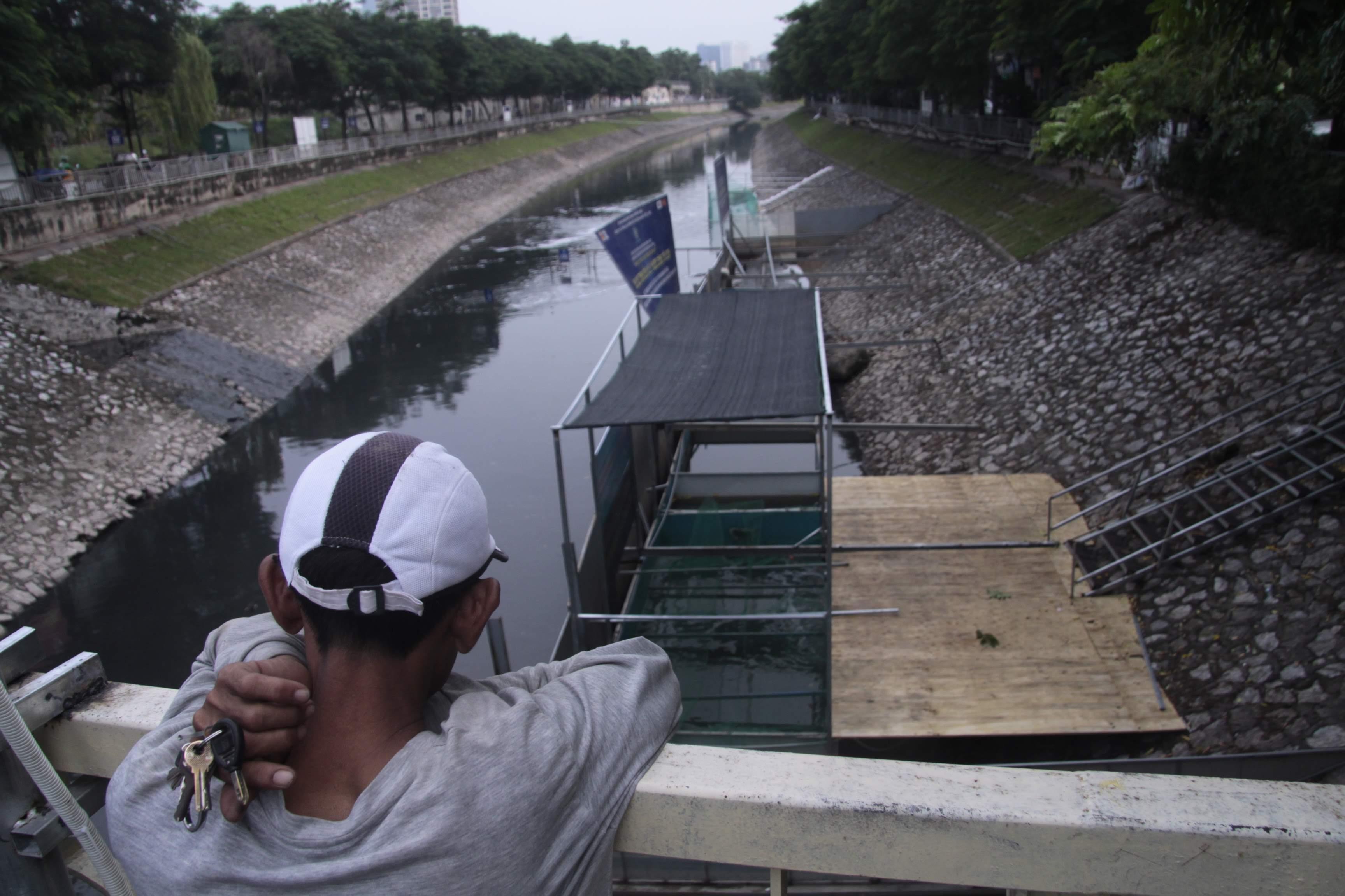 Camera canh giữ ngày đêm, cá koi Nhật vẫn chết trên sông Tô Lịch