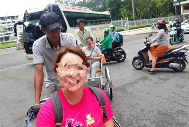 More tourist complain of cyclo drivers ripping them off