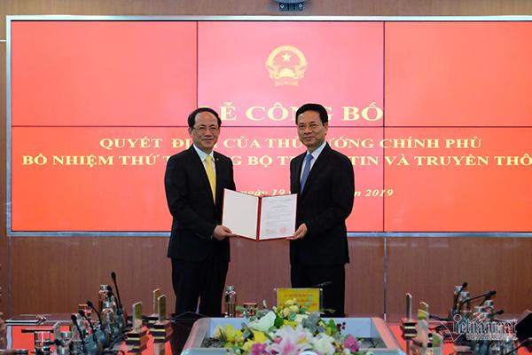 Ông Phạm Anh Tuấn được bổ nhiệm làm Thứ trưởng Bộ TT&TT