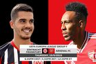 Trực tiếp Frankfurt vs Arsenal: Pháo thủ vào miền đất dữ