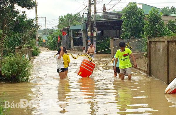 ngập lụt,lũ cuốn,mưa ngập,mưa lũ,ngập ở Đồng Nai