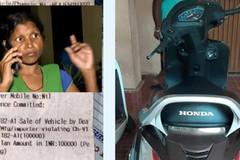 """Đi xe máy không biển số, chủ xe nhận """"án phạt"""" 1.400 USD"""