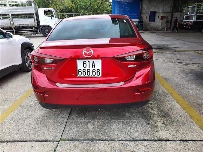 biển số xe,xe biển đẹp,Mazda