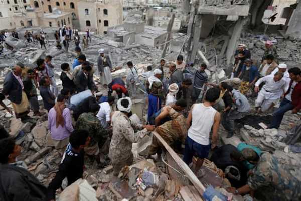 Liên quân Ảrập tấn công bắc Yemen