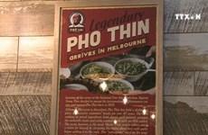 "Famous Hanoi noodle restaurant ""Pho Thin"" opens franchise in Melbourne"