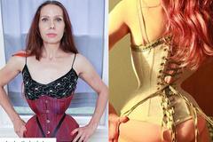 Nịt bụng 20 tiếng mỗi ngày suốt 7 năm, người phụ nữ sở hữu vòng eo 40cm