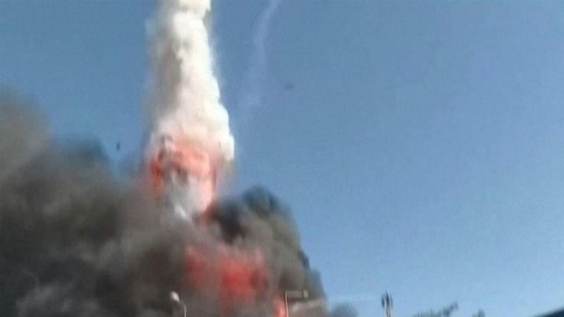 Thổ Nhĩ Kỳ,hỏa hoạn,tên lửa,nổ