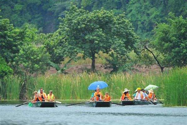 Trang An welcomes over 5 million tourists in a month