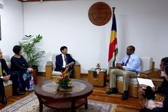 Việt Nam-Seychelles: Nền tảng vững chắc cho hợp tác đa lĩnh vực