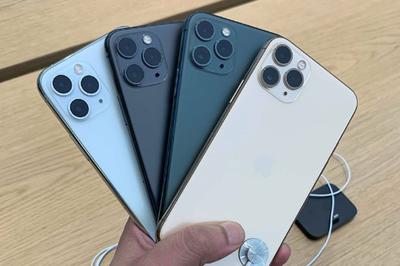 Cận cảnh iPhone 11 Pro vừa mở bán: Màu nào đẹp nhất?