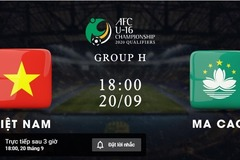Link xem U16 Việt Nam vs U16 Macau: Vòng loại U16 châu Á