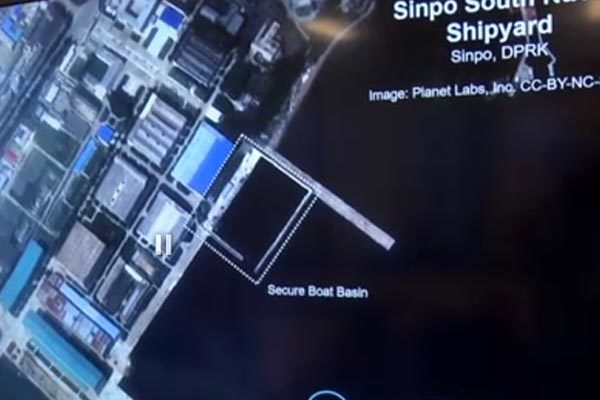Triều Tiên bị tố chuẩn bị hạ thủy tàu ngầm mang tên lửa đạn đạo