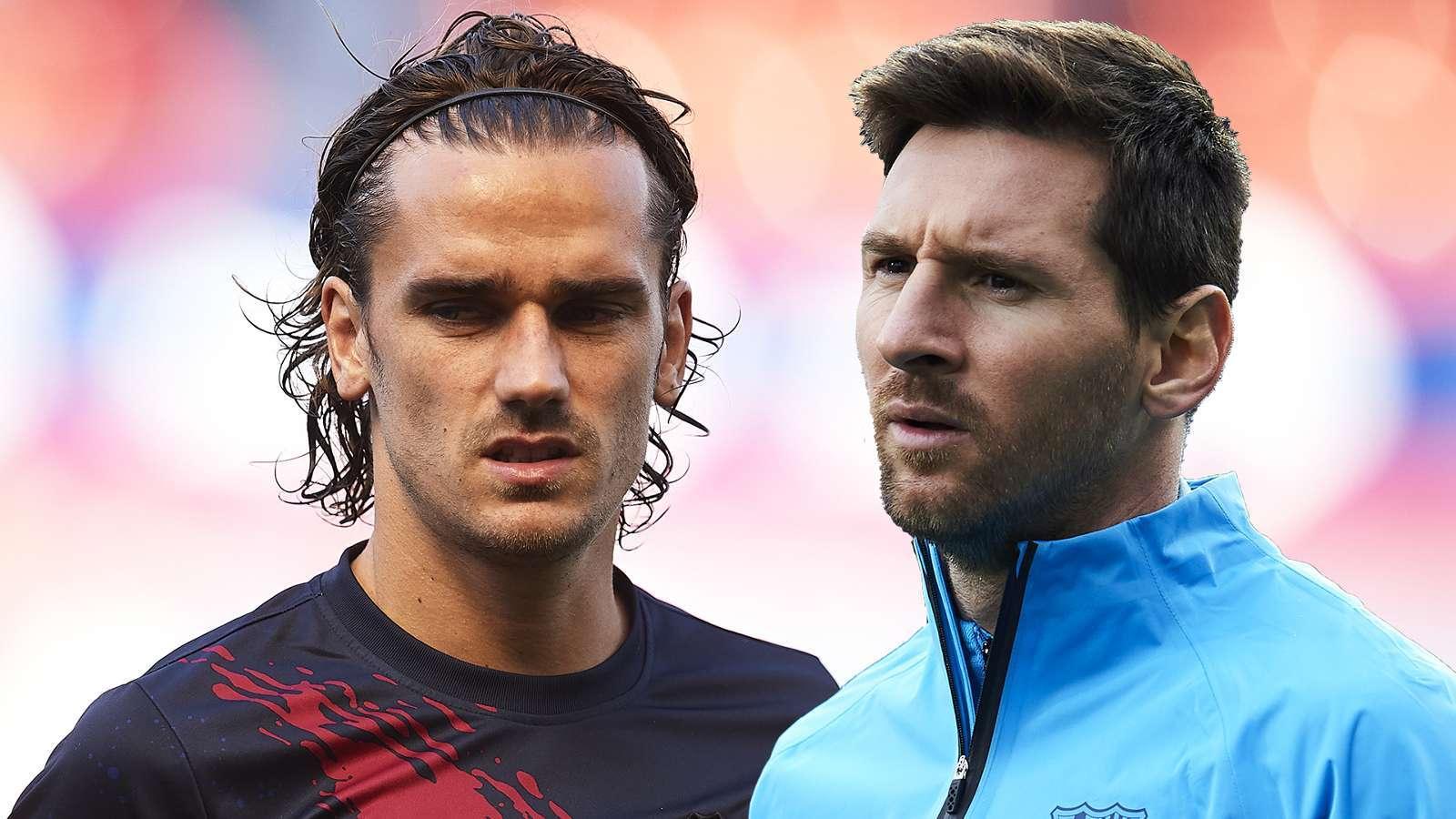 Barca,Lionel Messi,Antoine Griezmann