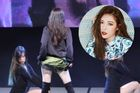 Hyun Ah gây tranh cãi khi tự tốc váy trong lúc biểu diễn ở trường đại học