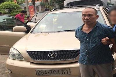 Tổng giám đốc công ty bất động sản, đêm đến lái Lexus đi trộm