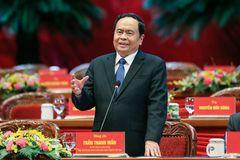 Ông Trần Thanh Mẫn tái đắc cử Chủ tịch UB TƯ MTTQ Việt Nam