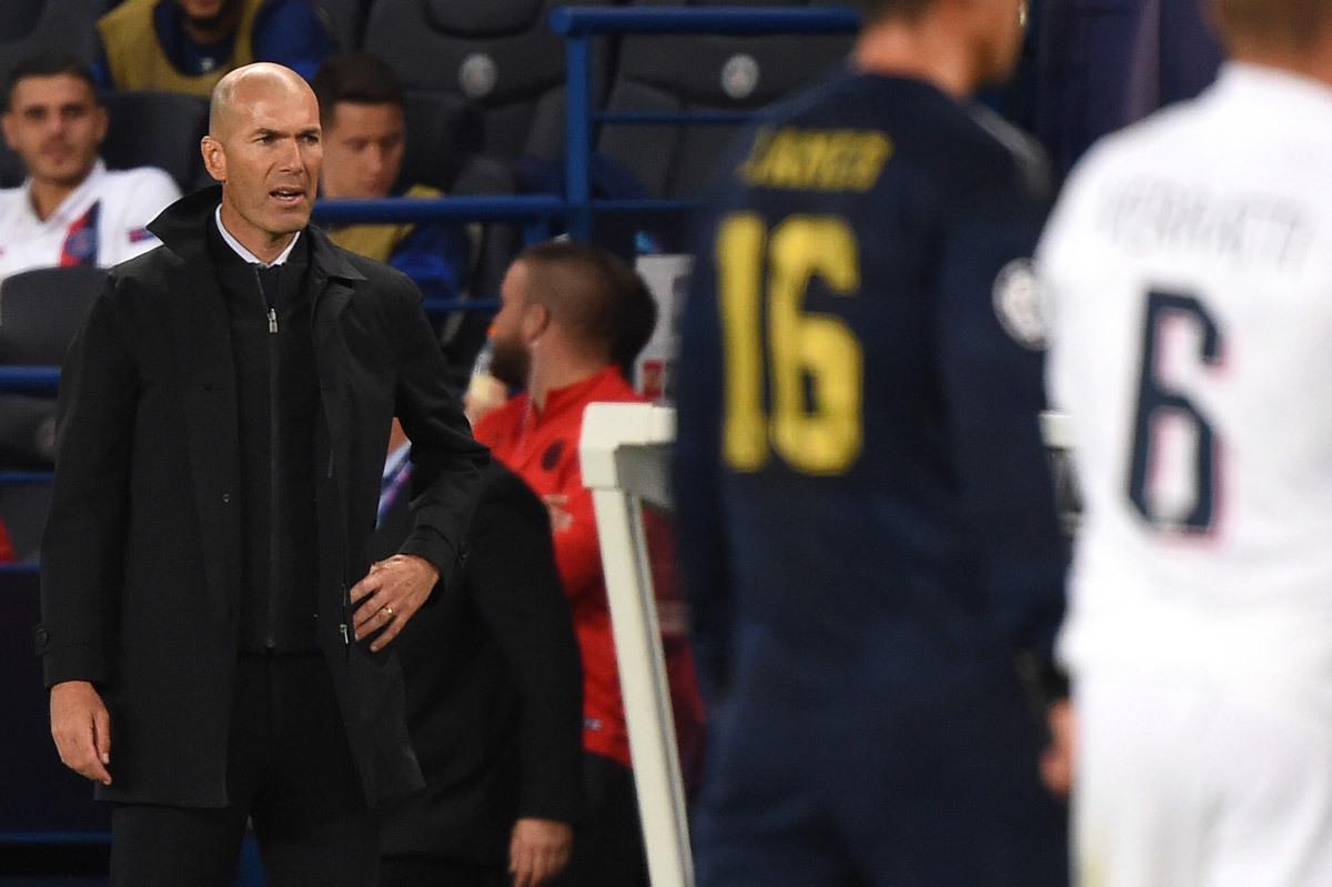 Real Madrid,Zinedine Zidane,Zidane,Florentino Perez