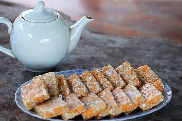 'Cay' cake - A specialty of Thai Binh