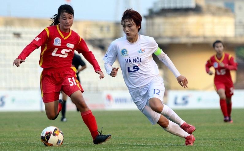 Nữ Hà Nội thắng hủy diệt, níu hi vọng đua vô địch