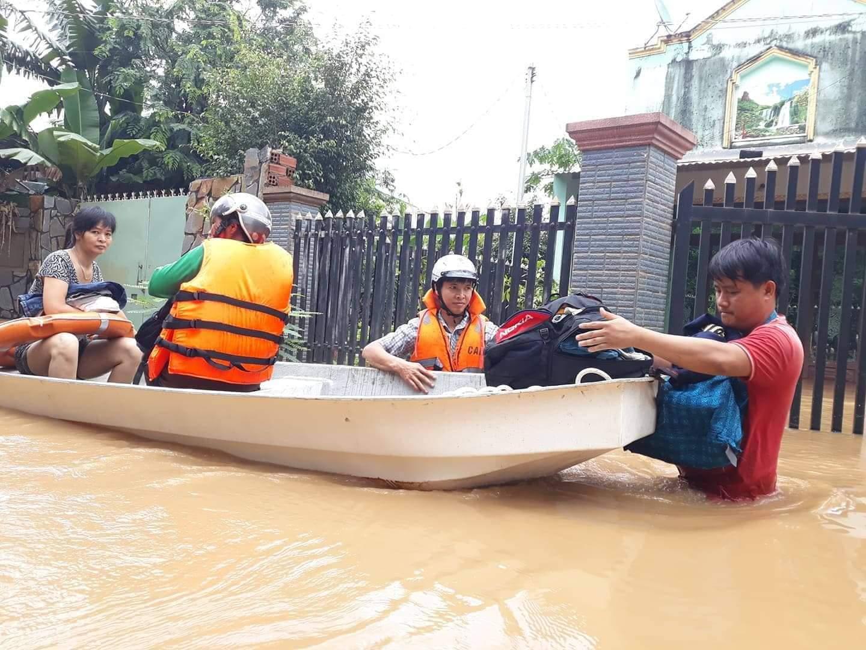 xả lũ,Ngập Lụt,thủy điện xả lũ,Mưa Lũ,thủy điện,Trị An