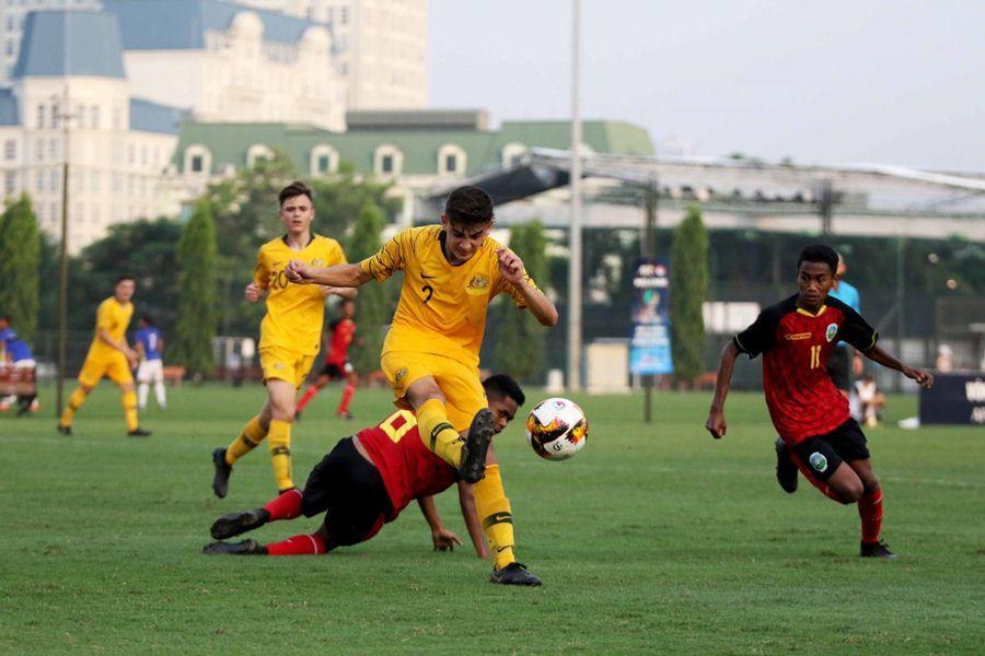U16 Australia vs U16 Timor Leste,Vòng loại U16 châu Á 2020