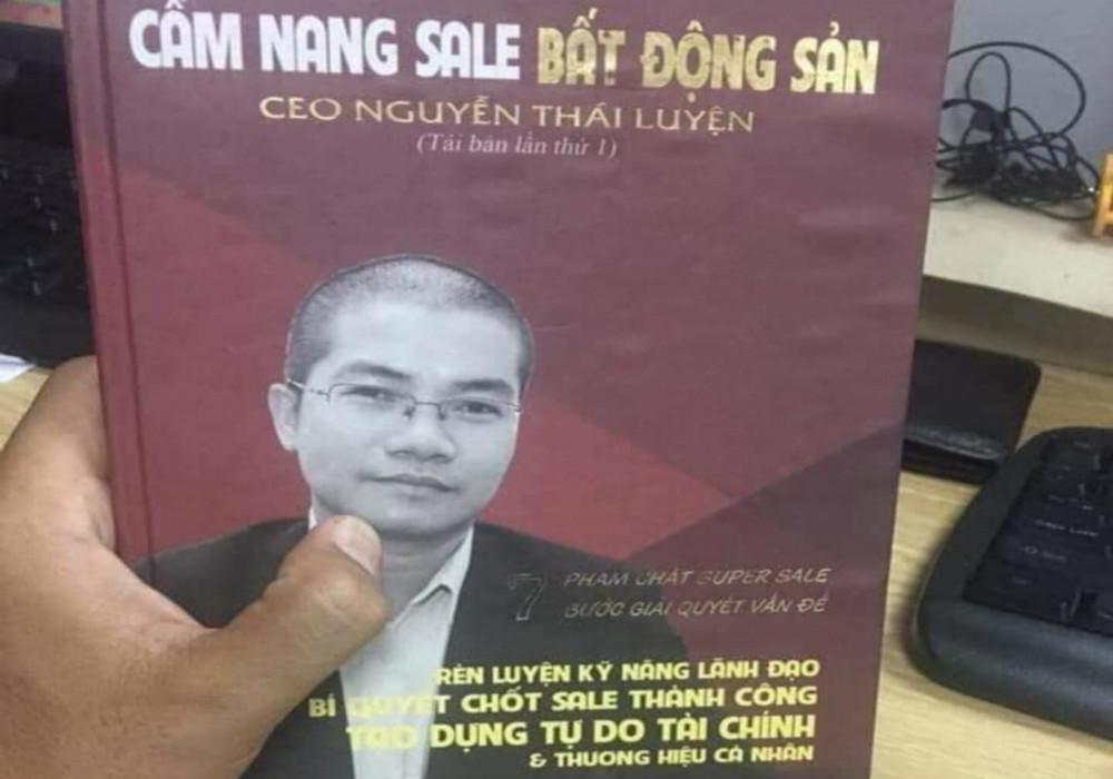 Cuốn sách Nguyễn Thái Luyện dạy nhân viên Alibaba lừa 100 người thân