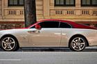 Ngắm siêu sang Rolls-Royce Wraith phối màu lạ dạo phố Hà Nội